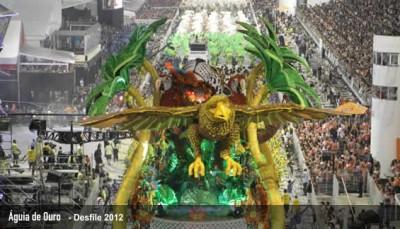 Aguia de Ouro desfile 2012