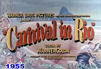 Carnaval do Rio 1955