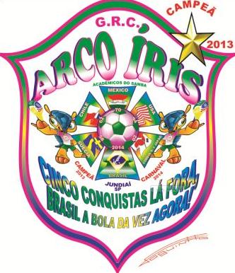 Arco Iris_logo do enredo 2014